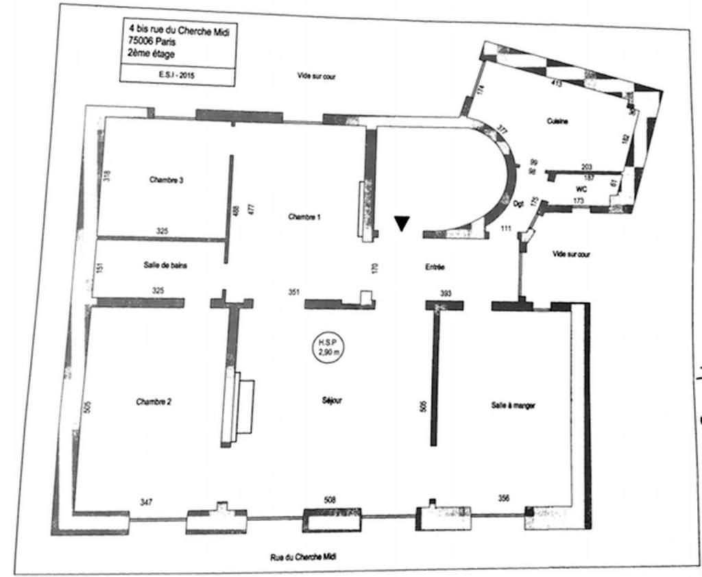 PLAN Paris VI - Bel appartement